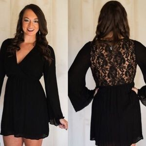 LAST ONEBlack Lace Dress