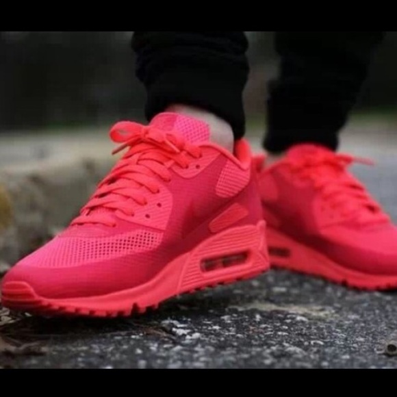 Nike Air Max 90 Idiomes Rouges Solaires Hyperfuse