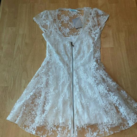 Kimchi blue white lace dress
