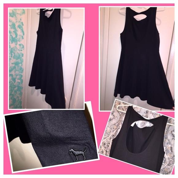 Black dress victoria secret incredible