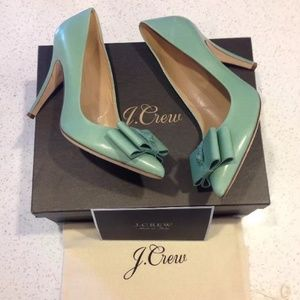 J. Crew Shoes - ⚡️SALE⚡️! J. Crew Topiary Viv bow heel! SOLD OUT