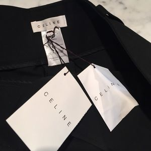 Never worn Celine black pants!