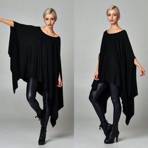 "Bare Anthology Tops - ""Contemporary"" Loose Poncho Tunic"