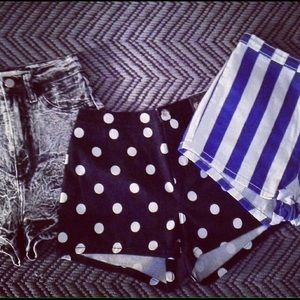 Summer shorts( buy1 and get 2nd pair 1/2 off)