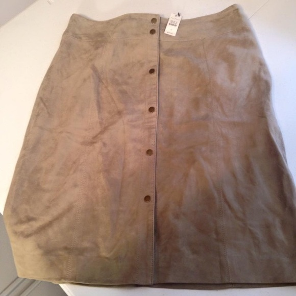 ae13253208 Talbots Skirts   Talbot Goat Suede Skirt Incredibly Soft Nwt   Poshmark