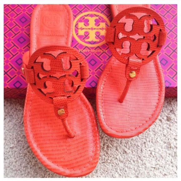 🔱PM_Editor Pick🔱{Tory Burch} Poppy Red Miller
