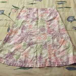 Mercer & madison Dresses & Skirts - 🌸Mercer & Madison 100% linen skirt size 2