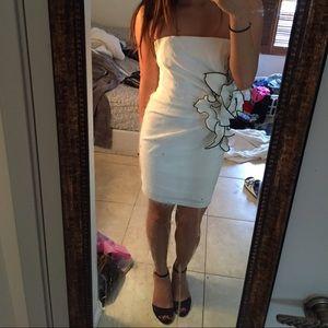 Cache white cocktail dress