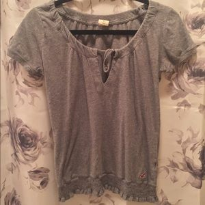 Grey Hollister Tunic/Top