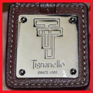 Tignanello Accessories - Brown leather key fob