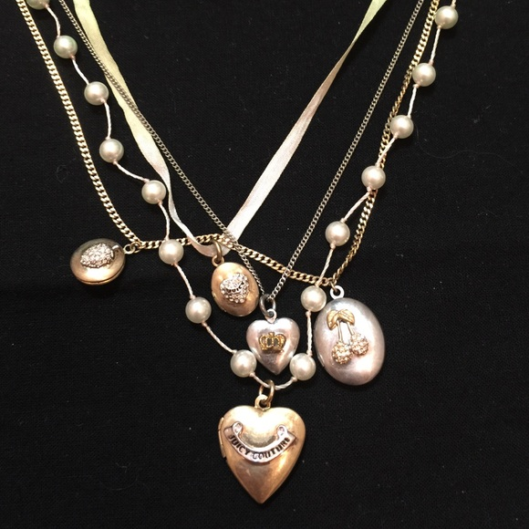 juicy couture juicy couture charm necklace from agvs