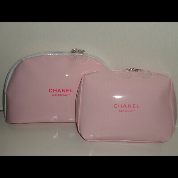 f518bc21609c CHANEL Accessories | Maquillage Pink Cosmetic Bag | Poshmark
