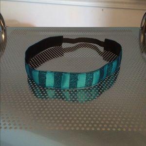 Blue Glitter non-slip headband