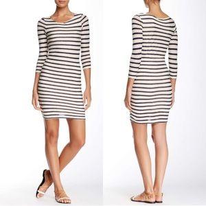 ⭐️RARE⭐️James Perse Cashmere Boatneck dress!