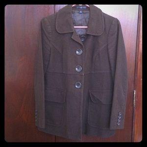 Gap chocolate brown coat