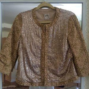 Haute Hippie sequin embellished blazer