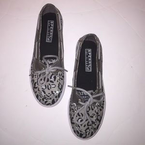 Sperry Top-Sider Shoes - Cute Sperry Topsider shoes in animal print
