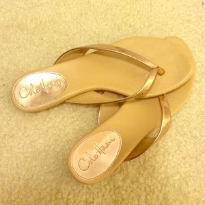 Cole Haan Shoes - Cole Haan rose gold sandals