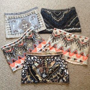 My All Saints sequin skirt collection  NFS