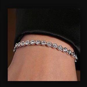 48 off swarovski jewelry swarovski tennis bracelet from. Black Bedroom Furniture Sets. Home Design Ideas