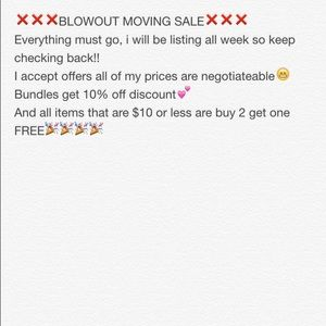 Other - ❌❌❌BLOWOUT SALE❌❌❌
