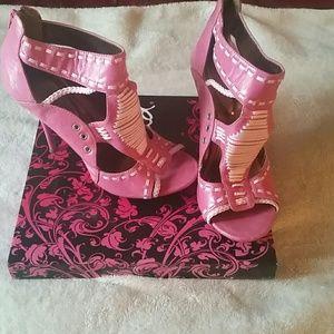 Summer ready open toe heels