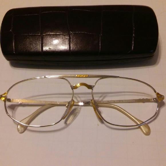16a2257c21d Vintage Morgan Motors Eyeglasses Frame