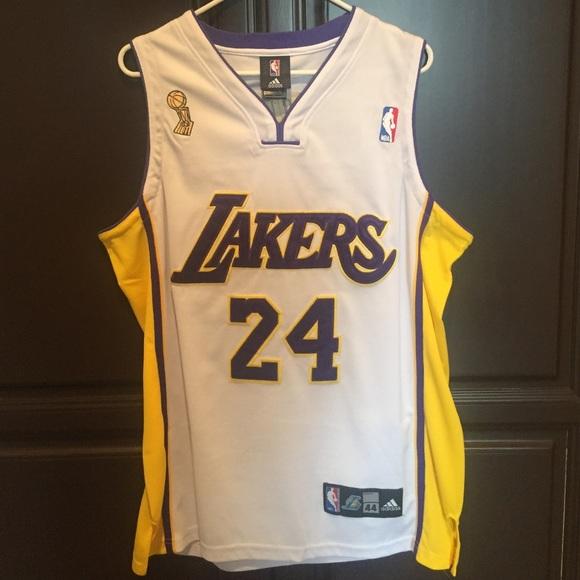 best service 4d568 e7415 NBA Lakers Kobe Bryant Finals Jersey