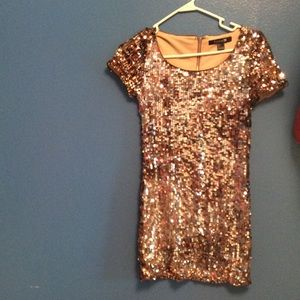 F21 Sequins semi formal dress