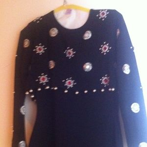 REDUCED!  ANDRE JOVINE DRESS. sz  Large from Cache
