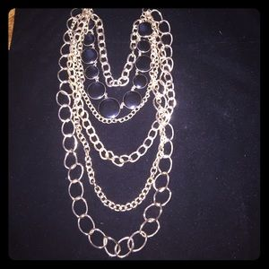 LAYERED GORGEOUS CHIC NECKLACE! NEW. LOW PRICE!