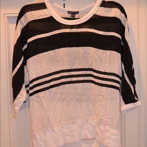 Striped Chiffon Shirts