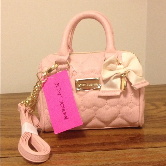 35% off Betsey Johnson Handbags - SALE!! NWT Betsey Johnson pink ...