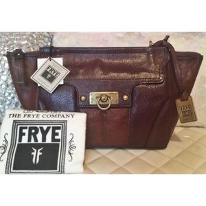 Frye Dana Leather Crossbody Messenger Bag