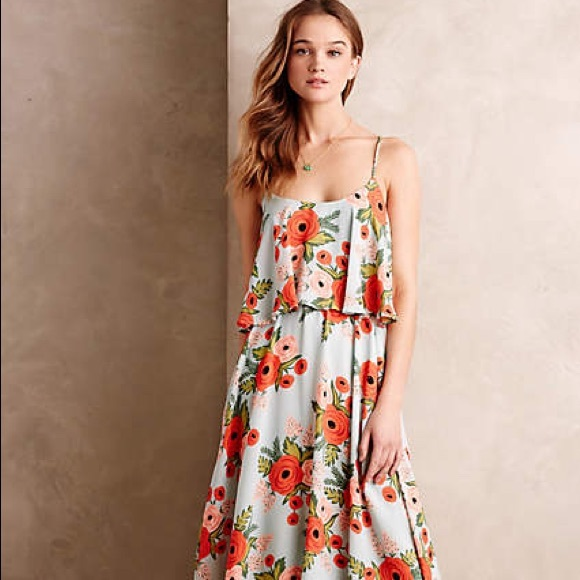 6aff198d01acf Anthropologie Dresses & Skirts - Anthropologie Poppy Field Dress by Paper +  Crown