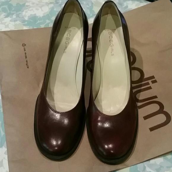 90 bcbgmaxazria shoes bcbg leather high heel shoes