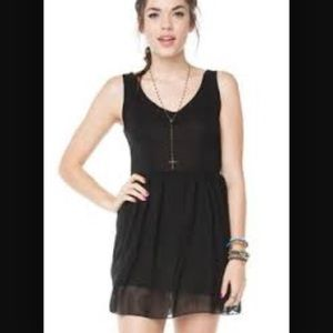 Brandy Melville Chiffon Dress *RARE*