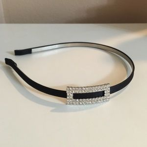 Accessories - Black rhinestone headband