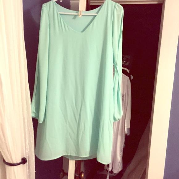 51 off lulus dresses amp skirts beautiful mint green