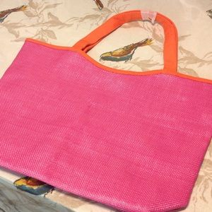 Lancome Handbags - New lancome tote in bright pink