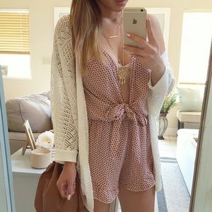 Dresses & Skirts - Front tie romper