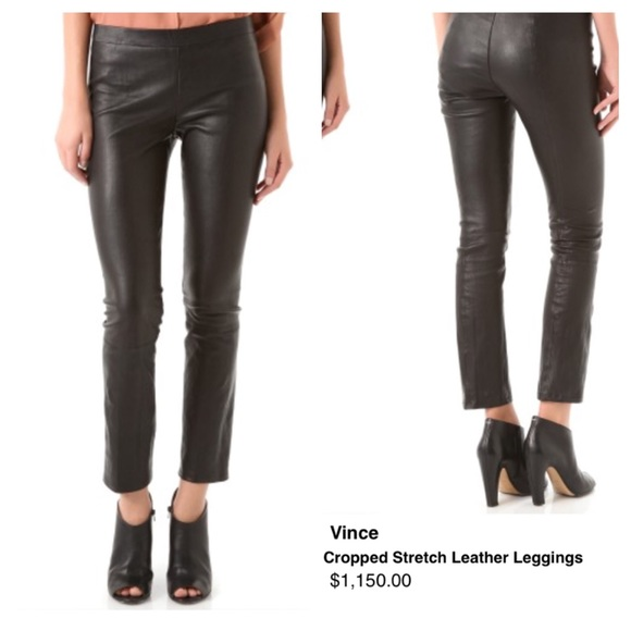 Real Leather Leggings