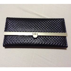 Classy Black Quilt Wallet
