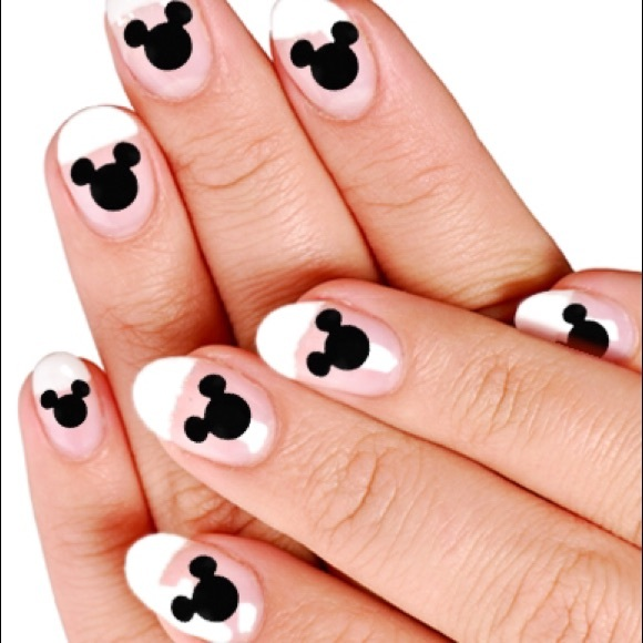 Accessories | Nail Art Mickey Mouse Silhouette | Poshmark