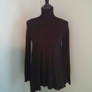 INC International Concepts Tops - INC International Concepts Top - Black Flowy Shirt