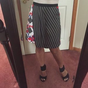 Peter Pilotto for Target striped and floral skirt.