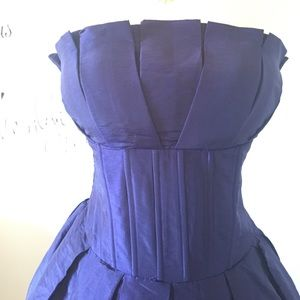 Romeo & Juliet Couture Dresses - 🔥Purple corset bubble hem dress🔥one of a kind❗️