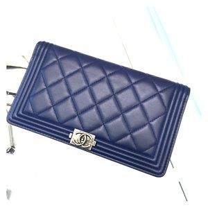 CHANEL BOY wallet with everything! Brand New! NY