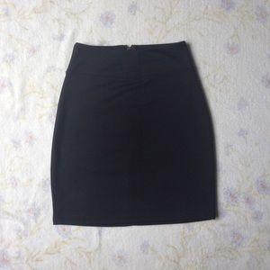 UO Black Skirt
