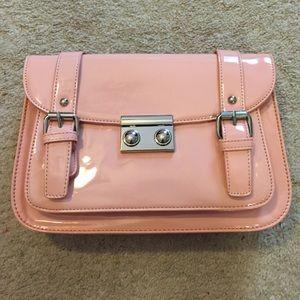 Forever 21 Patent Pink Messenger Bag